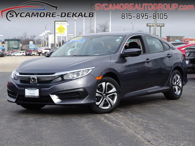 Certified Pre-Owned 2018 Honda Civic Sedan LX