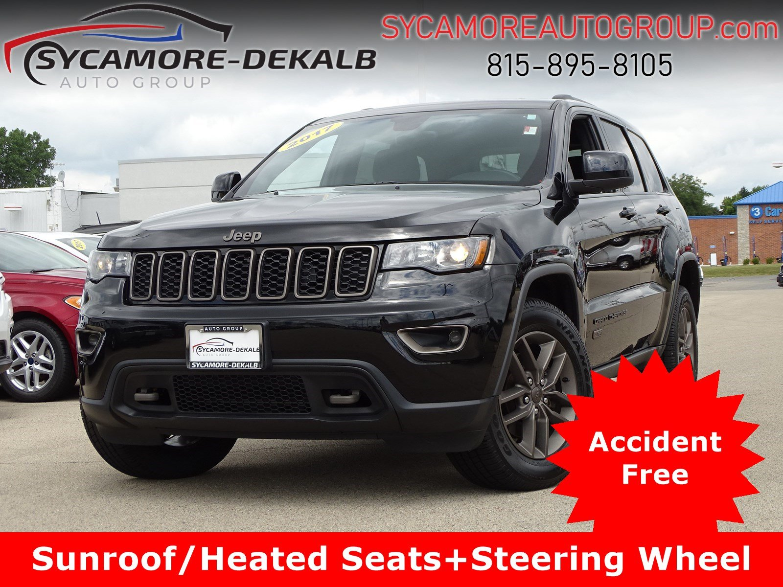 Jeep Grand Cherokee 75Th Anniversary >> Pre Owned 2017 Jeep Grand Cherokee 75th Anniversary Edition 4wd