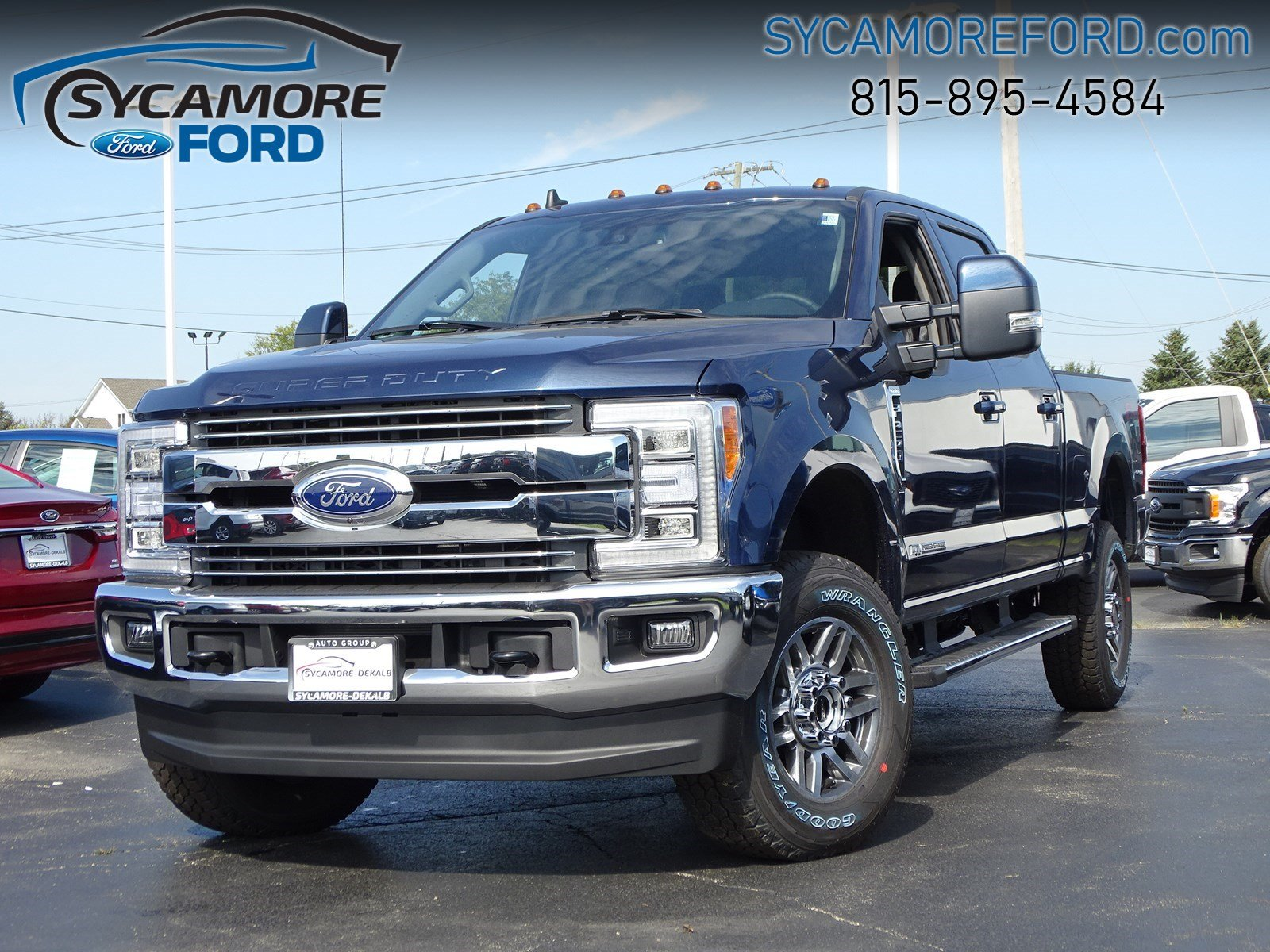 New 2019 Ford Super Duty F-250 SRW LARIAT