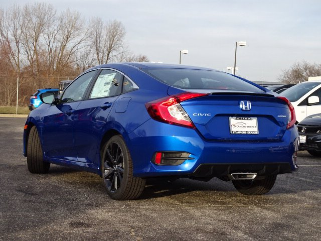 New 2020 Honda Civic Sedan Sport