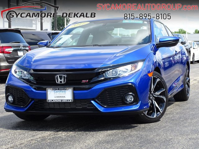 Honda Certified Pre Owned >> Certified Pre Owned 2017 Honda Civic Coupe Si Fwd 2dr Car