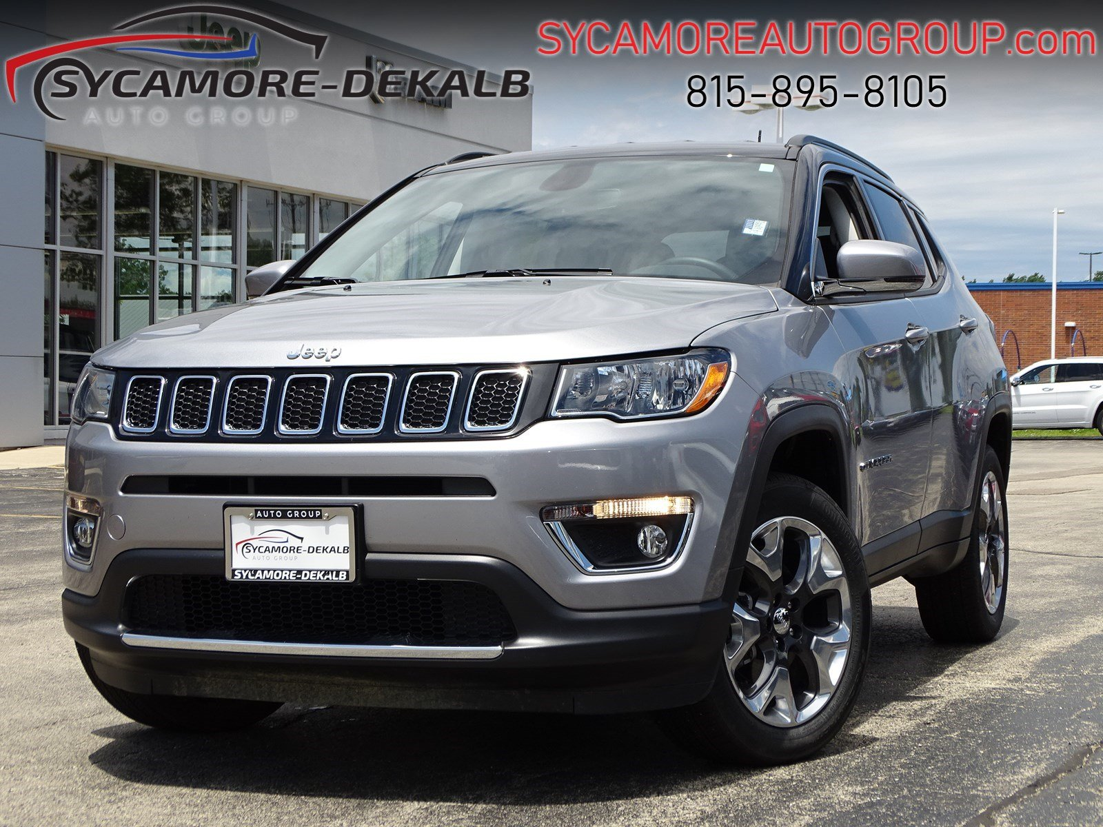 Jeep Certified Pre-Owned >> Certified Pre Owned 2018 Jeep Compass Limited Sport Utility In