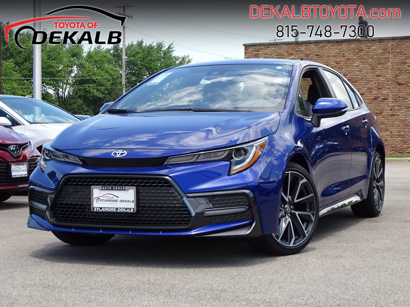 New 2020 Toyota Corolla SE 4dr Car In Sycamore #T20-12