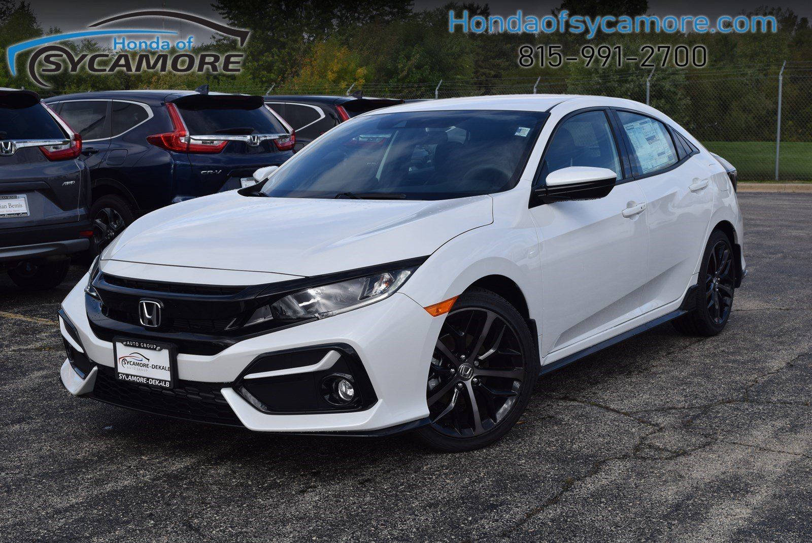 Honda Civic New >> New 2020 Honda Civic Hatchback Sport Fwd Hatchback