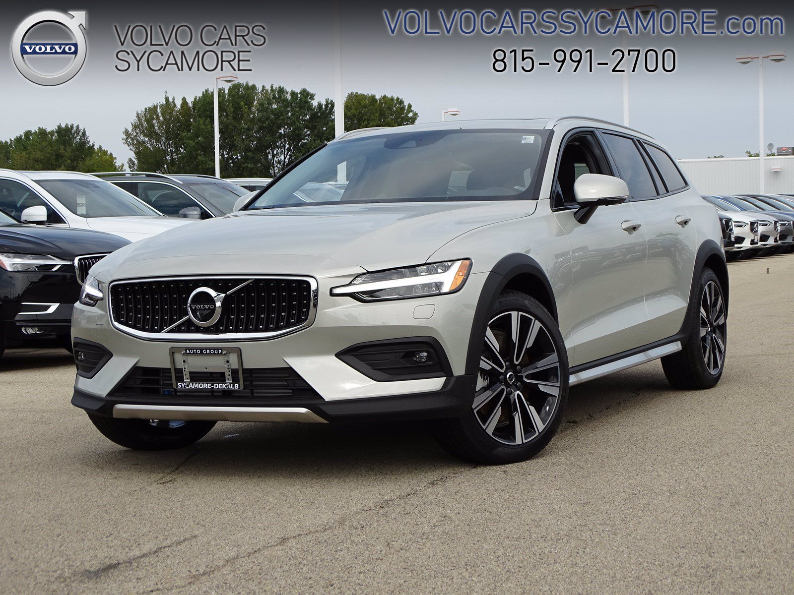 Volvo V60 Cross Country >> New 2020 Volvo V60 Cross Country With Navigation Awd
