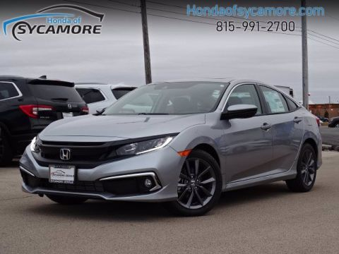 New 2020 Honda Civic Sedan EX