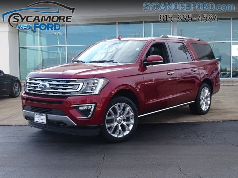 New 2018 Ford Expedition Max Limited