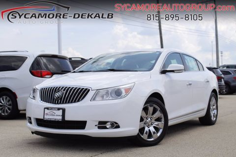 Pre-Owned 2013 Buick LaCrosse Leather
